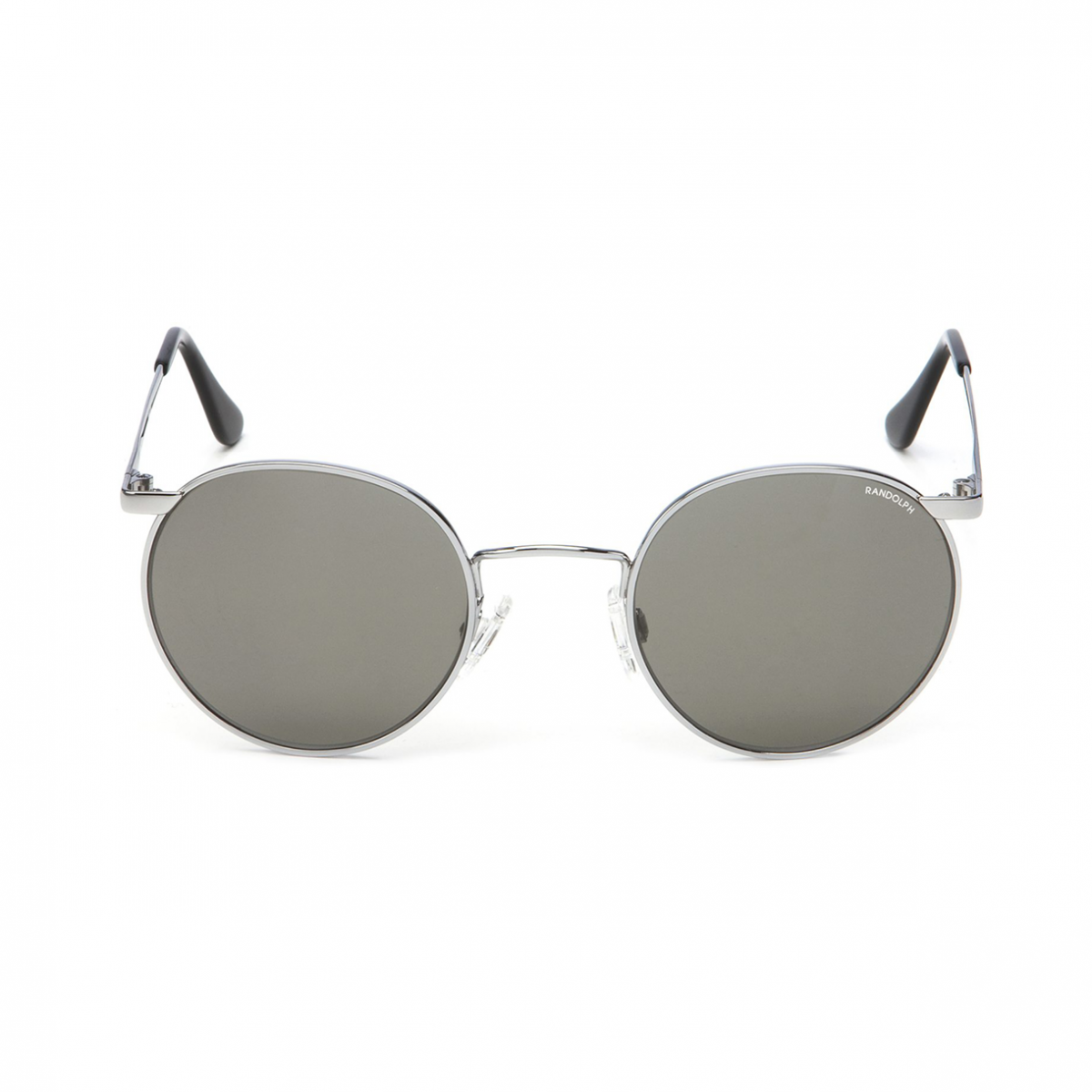 Keeweestyle Randolph Sonnenbrille Modell P3 Bright Chrome American Gray Front
